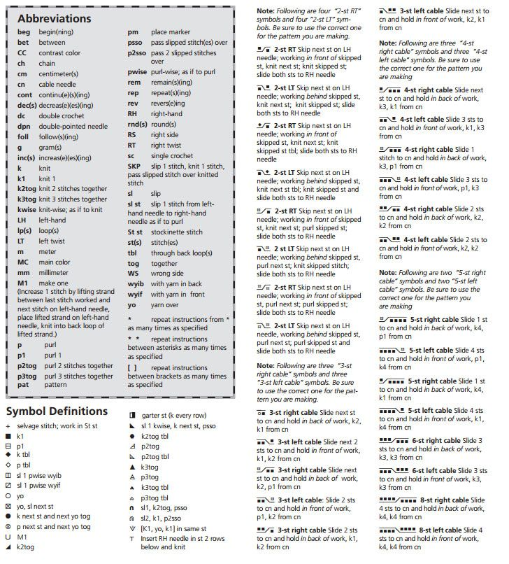 Russian to english knitting chart translation knitting charts useful charts i have found for translating russian knitting chart symbols into english illustrated explanation of russian knitting symbols urtaz Images