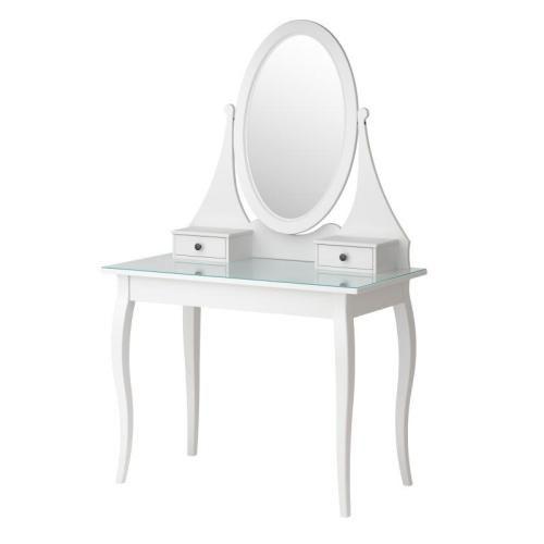 HEMNES Μπουντουάρ με καθρέφτη, λευκό  €159,00