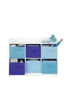 Kidspace 2-tier Toy Storage Unit | littlewoodsireland.ie  something for the kids room to give them a 'not' desk but somewhere to put stuff & an open space to put stuff on before they are old enough to have a desk!