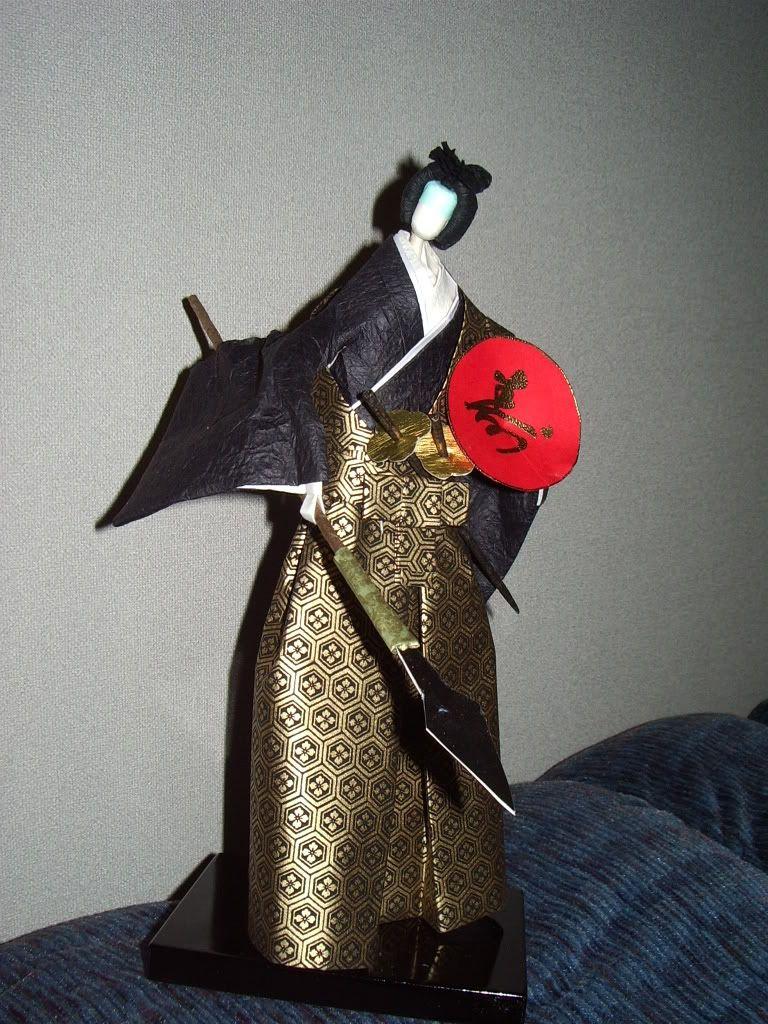 Omiyage Blogs: Aprender el arte de Muñecas de papel japonés