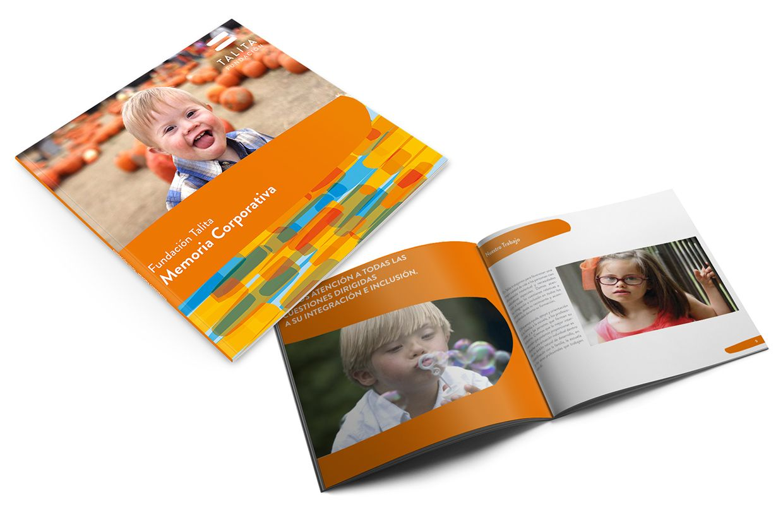 Logo design + Branding - Fundación Talita on Behance
