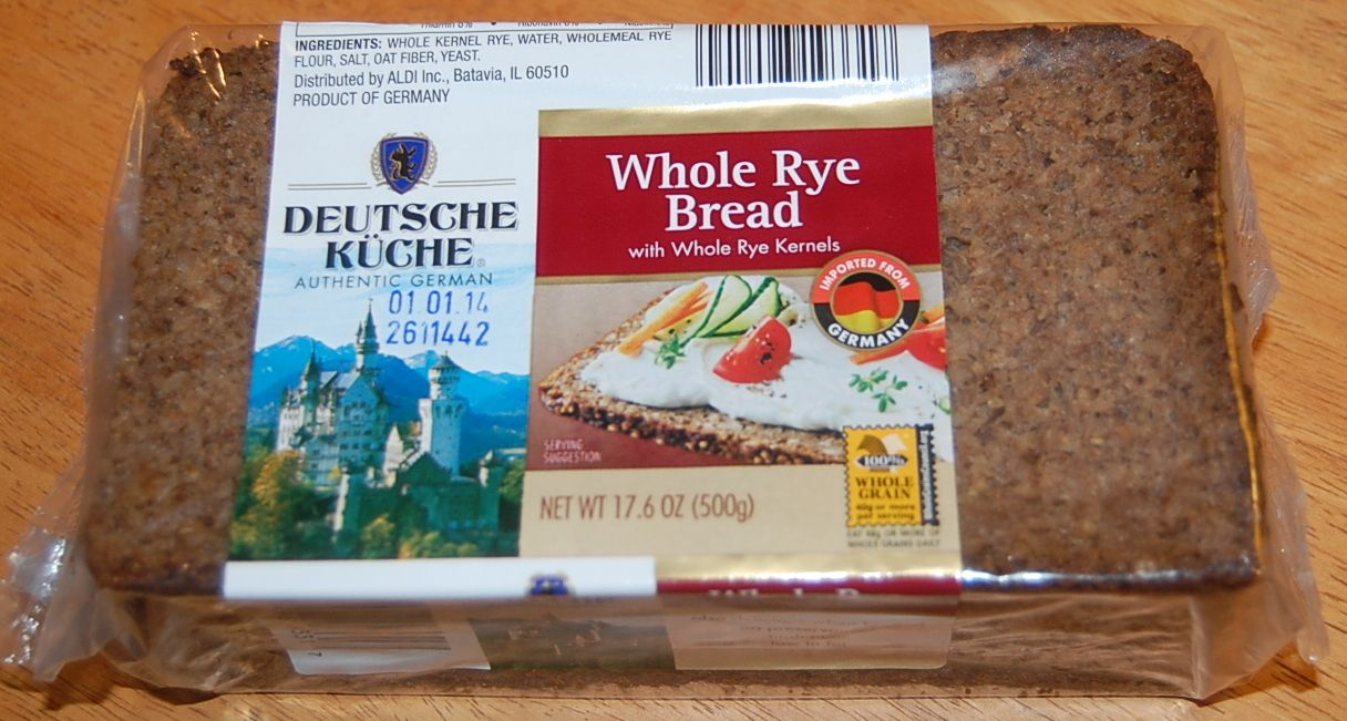 Deutsche Kuche Bread This Is Rye Bread From Aldi This Bread Doesn T Spike Your Blood