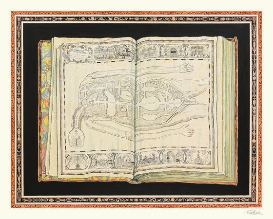 Adam Dant, From the Library of Dr London, at Hales Gallery, 7 September - 6 October 2012