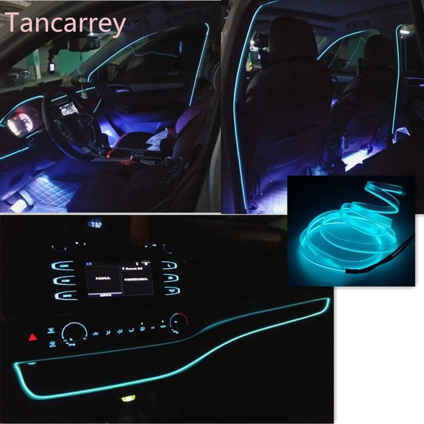 Car Styling Interior Atmosphere Lights For Mercedes Benz W211 W203