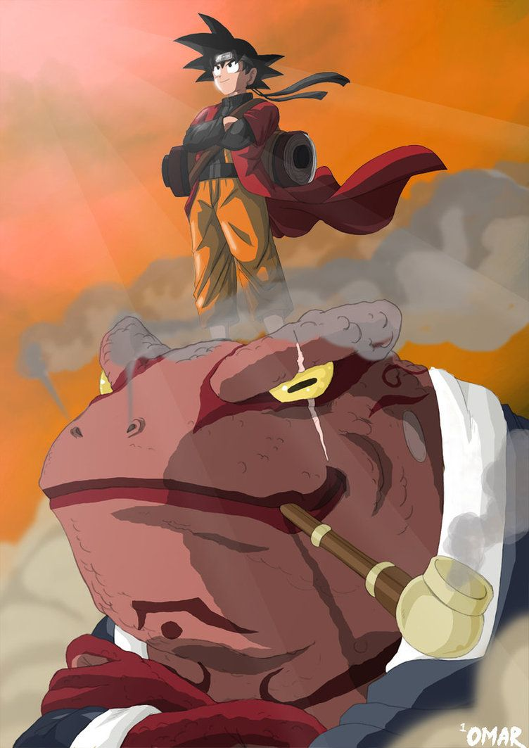 Dragon Ball-Naruto Crossover by OmaruIndustries on DeviantArt
