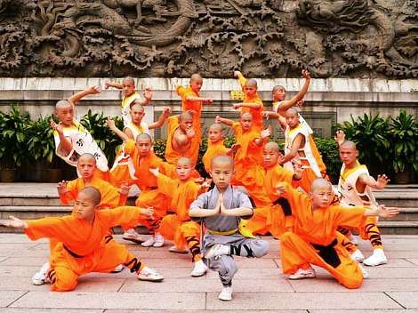 I would dress as a boy and enroll myself in the Shaolin Temple if I could.