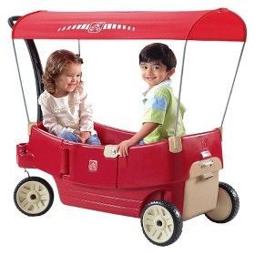 Step 2 All Around Canopy Wagon Target Mobile Kids Wagon Best