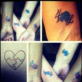 8ff31ae23 sisters puzzle piece tattoos without all the extra stuff though ...