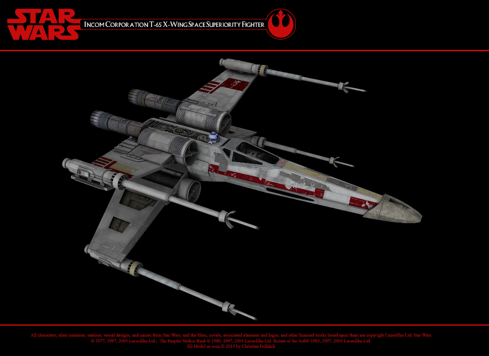 T 65 X Wing Starfighter By Christian Frohlich Star Wars Spaceships Star Wars Fan Art Star Wars Fans