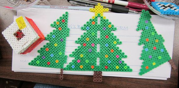 3d Perler Christmas Tree By Kyrasayuri Trying To Figure Out How To Make This Christmas Perler Beads Perler Crafts Perler Bead Patterns