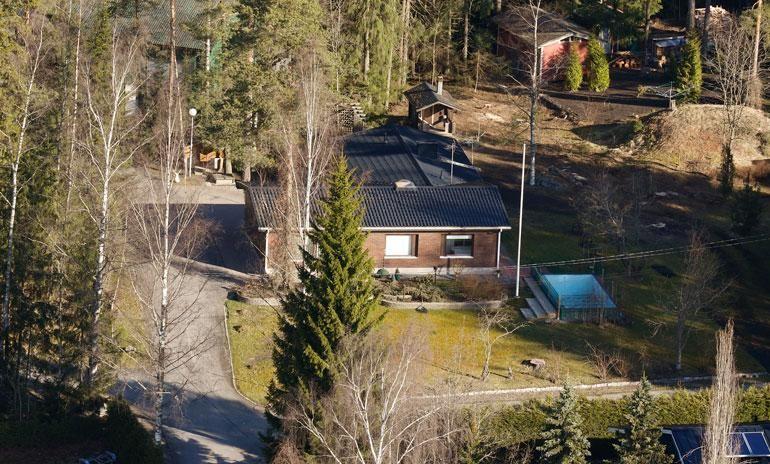Lauri Tähkän koti Turun Paattisissa.