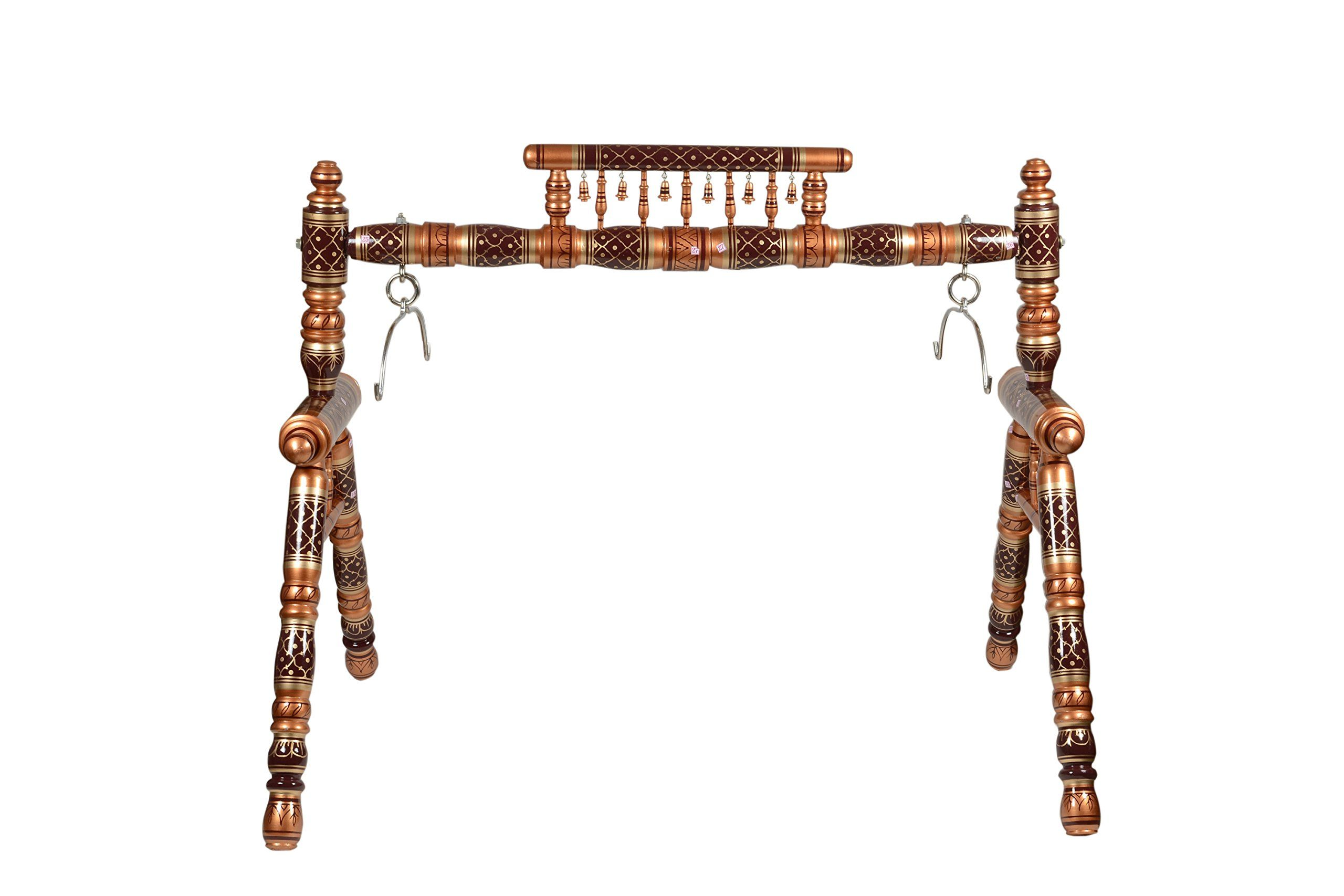 Movie Time Video Traditional Indian Baby Cradle Swing with