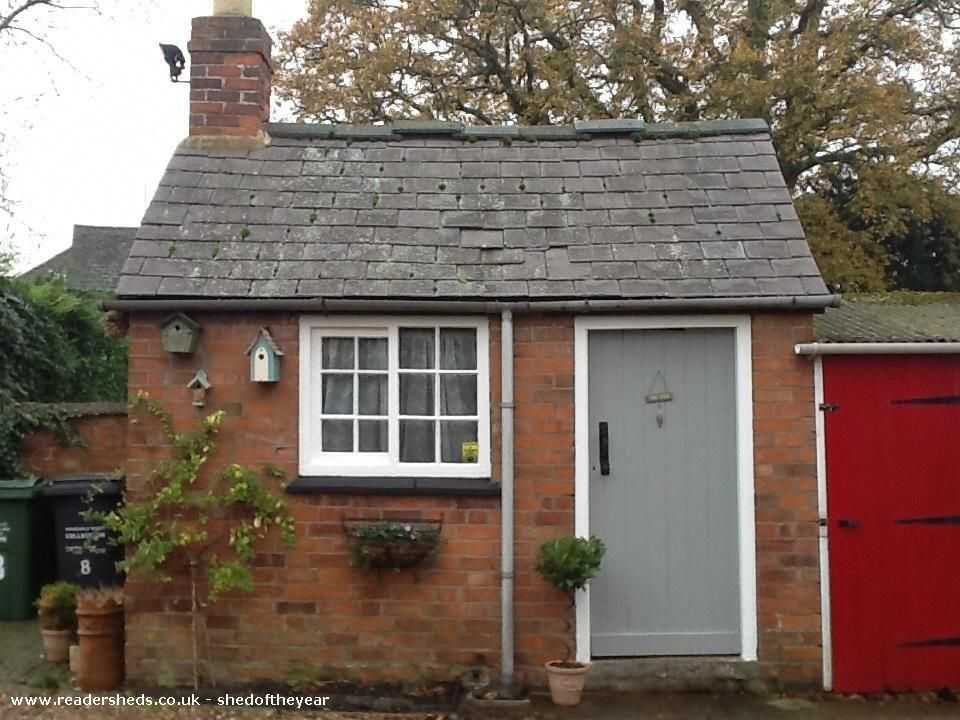 Framework Knitters Shedits Historical Value My House Is A Three Storey Framework Knitters Cottage Circa 1802 And The Sh Brick Shed Garden Shed Building A Shed