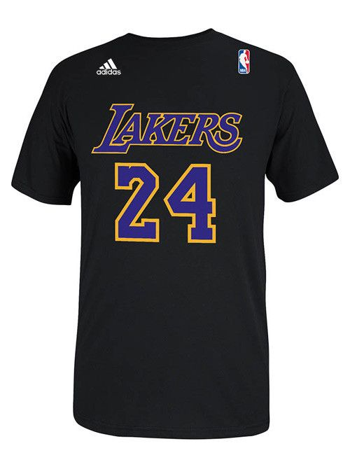 Los Angeles Lakers Kobe Bryant Hollywood Nights Player T Shirt Lakers Store