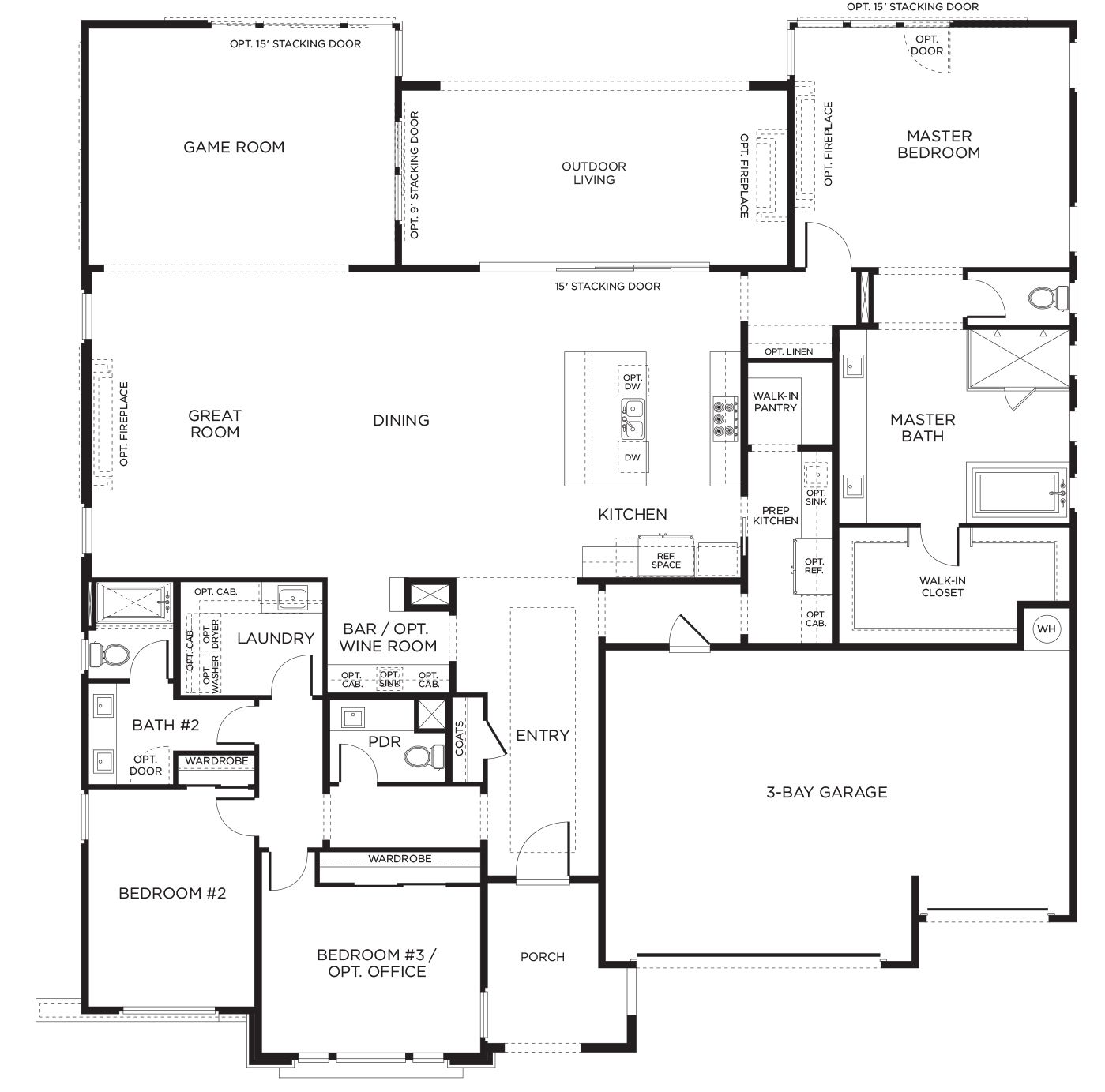 Find your new pardee home today pardee homes floor