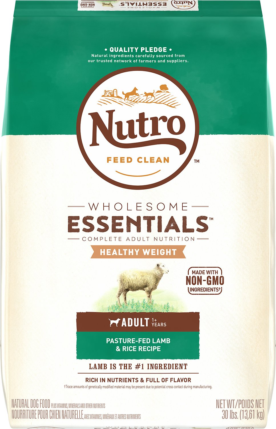 Nutro Wholesome Essentials Healthy Weight Adult Pasture