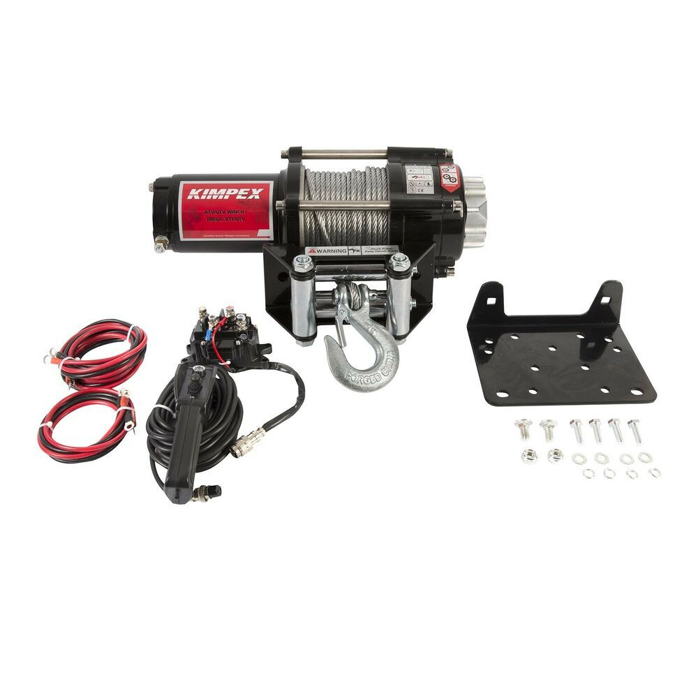 ebay sponsored badland winches 61256 12000 lb off road vehicle electric winch with automati [ 1000 x 1000 Pixel ]