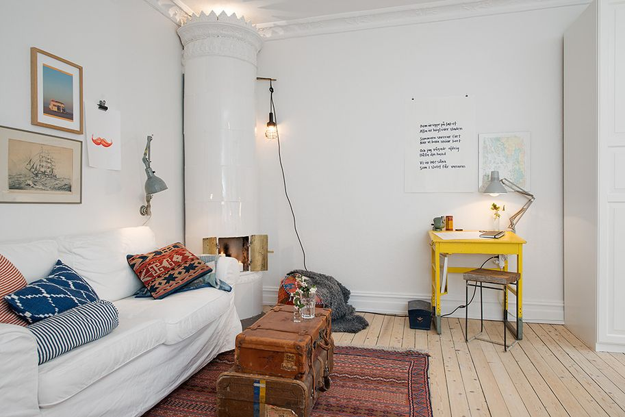 Soothing Ambience Inspired by Small OneRoom Apartment in Gothenburg