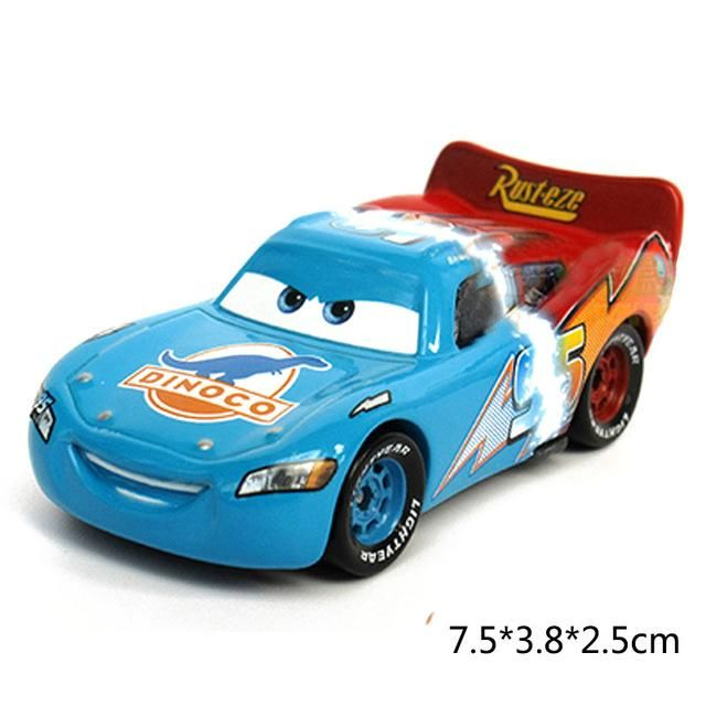 Disney Pixar Cars 3 Lightning McQueen Mater 1 55 Diecast Metal Alloy ... 41f3897fb63d