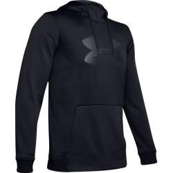 Photo of Under Armour Af Po Hoodie Big Logo Graphic-blk Under Armour