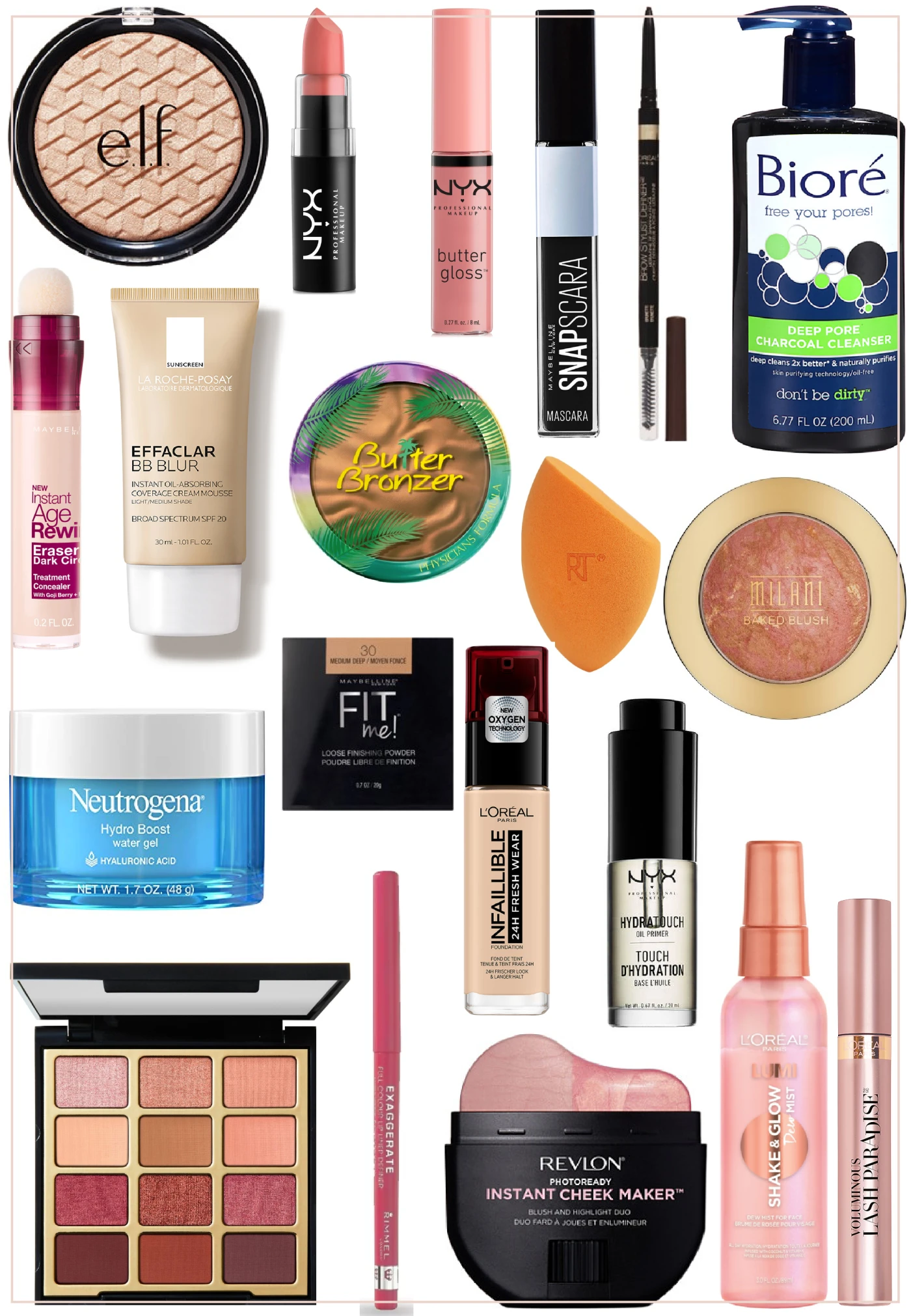The 23 Favorite Drugstore Products Katie Swears By Drugstore Eyeliner Liquid Butter Lipstick Drugstore Makeup