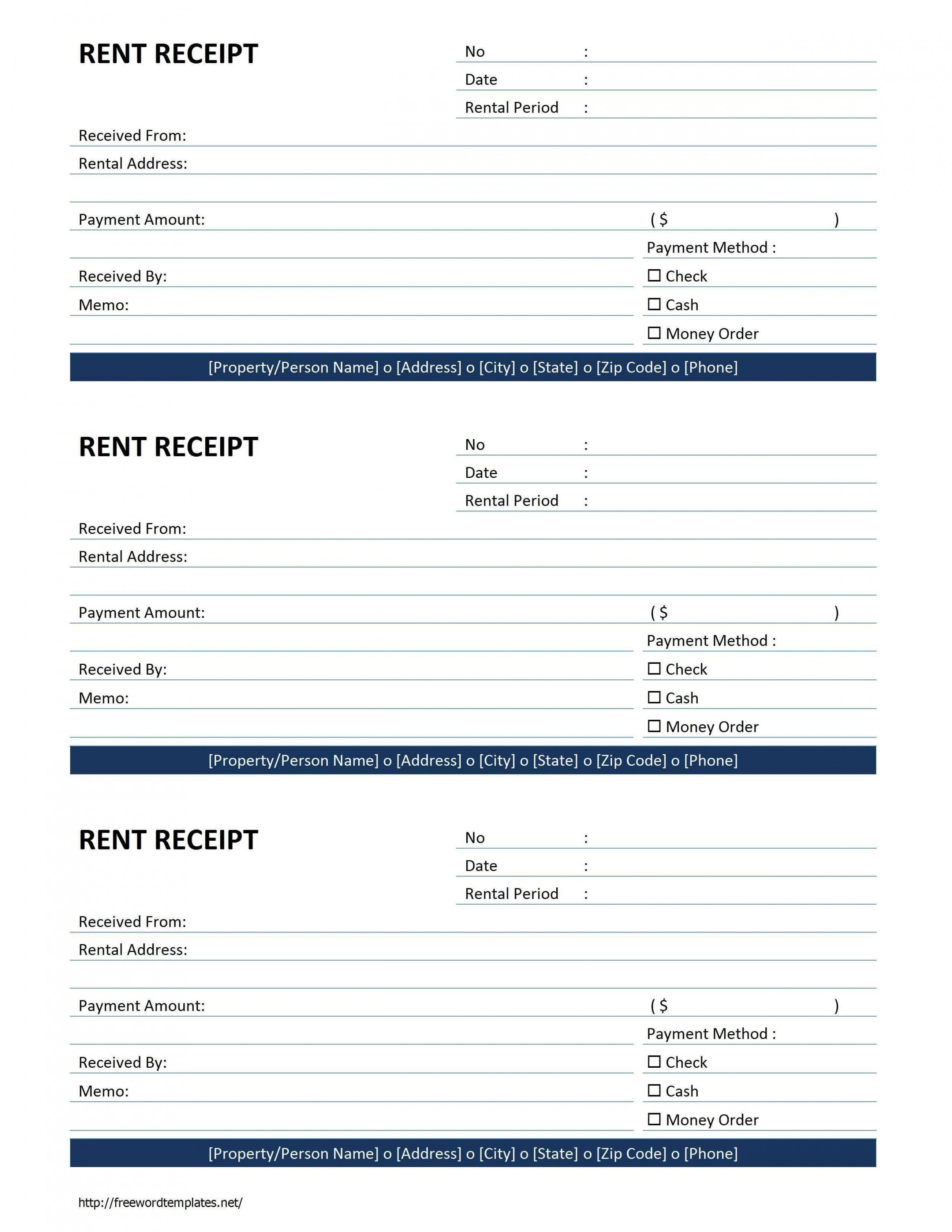Browse Our Sample Of Rental Official Receipt Template Free Receipt Template Receipt Template Invoice Template Word