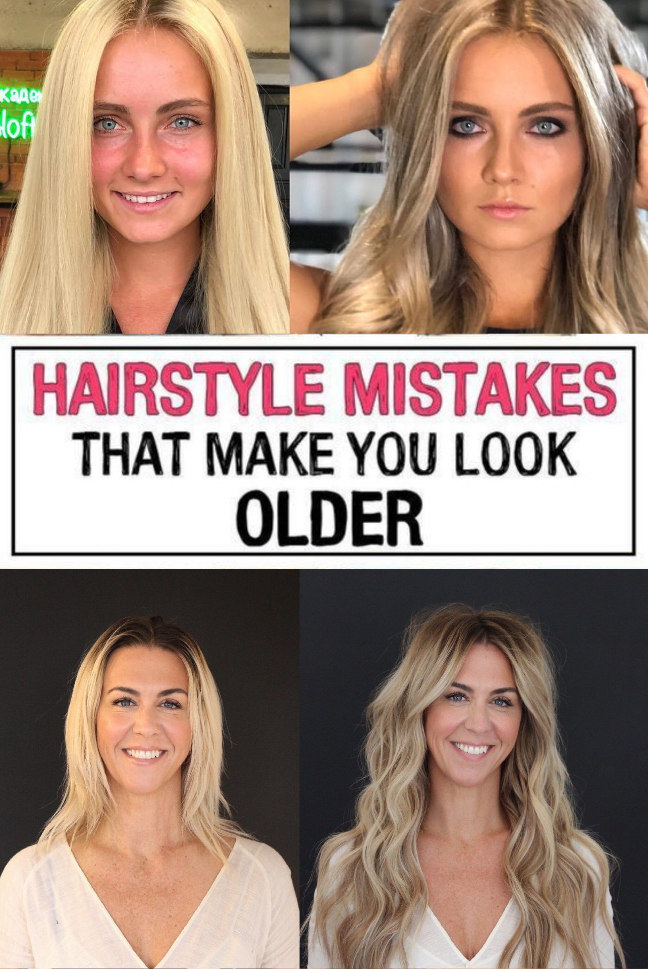 37 Hairstyle Mistakes That Are Aging You In 2020 Hairstyle Mom Hairstyles Hair Mistakes