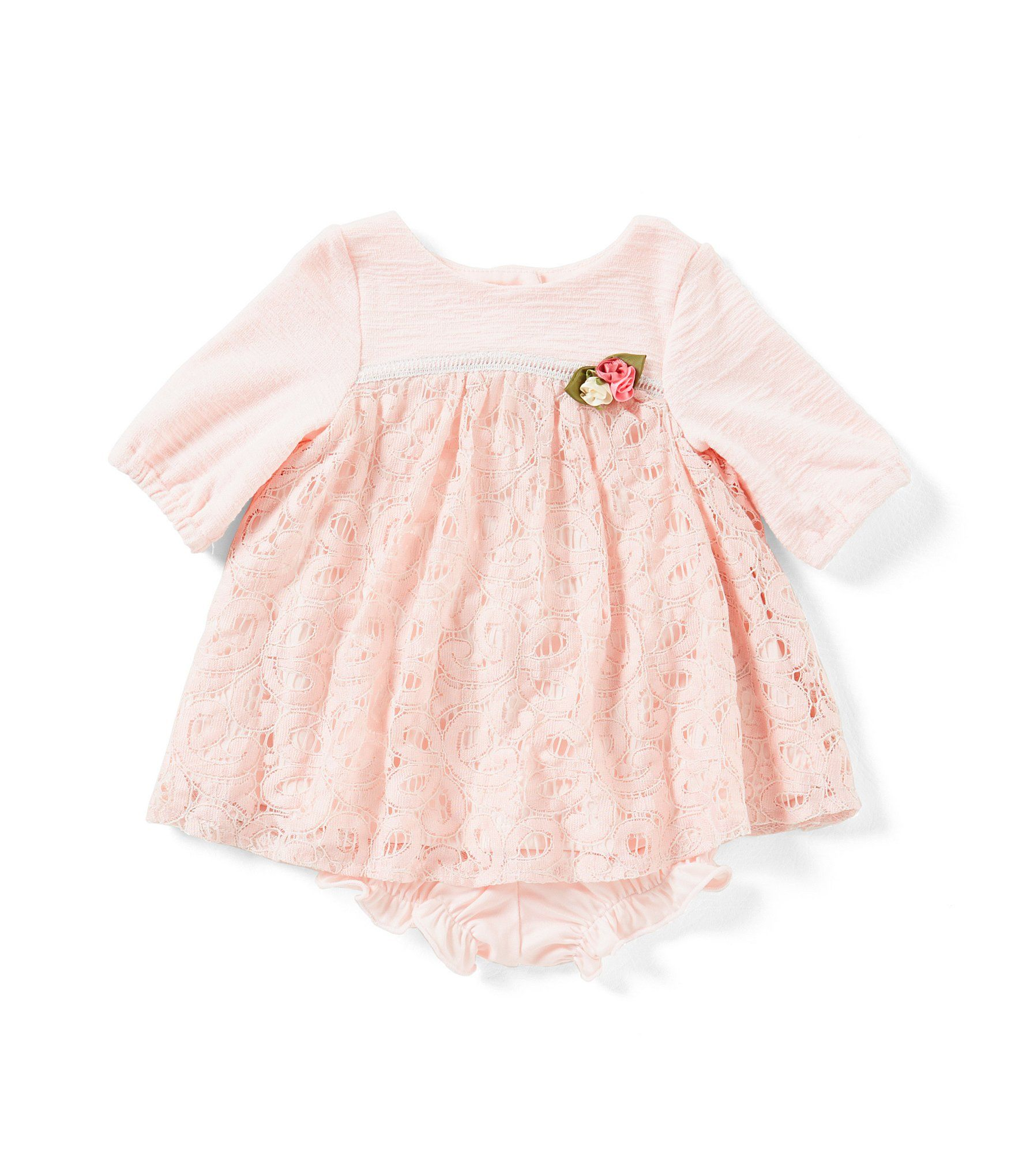 c69fa4fdaeb0e Shop for Laura Ashley London Baby Girls Newborn-24 Months Lace 3/4-Sleeve  Dress at Dillards.com. Visit Dillards.com to find clothing, accessories,  shoes, ...