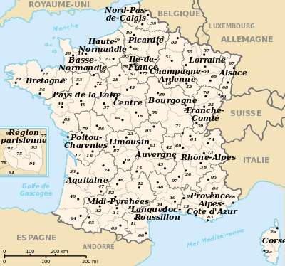 Cartina Belgio Politica.Francia Cartina Politica Dipartimenti Cerca Con Google