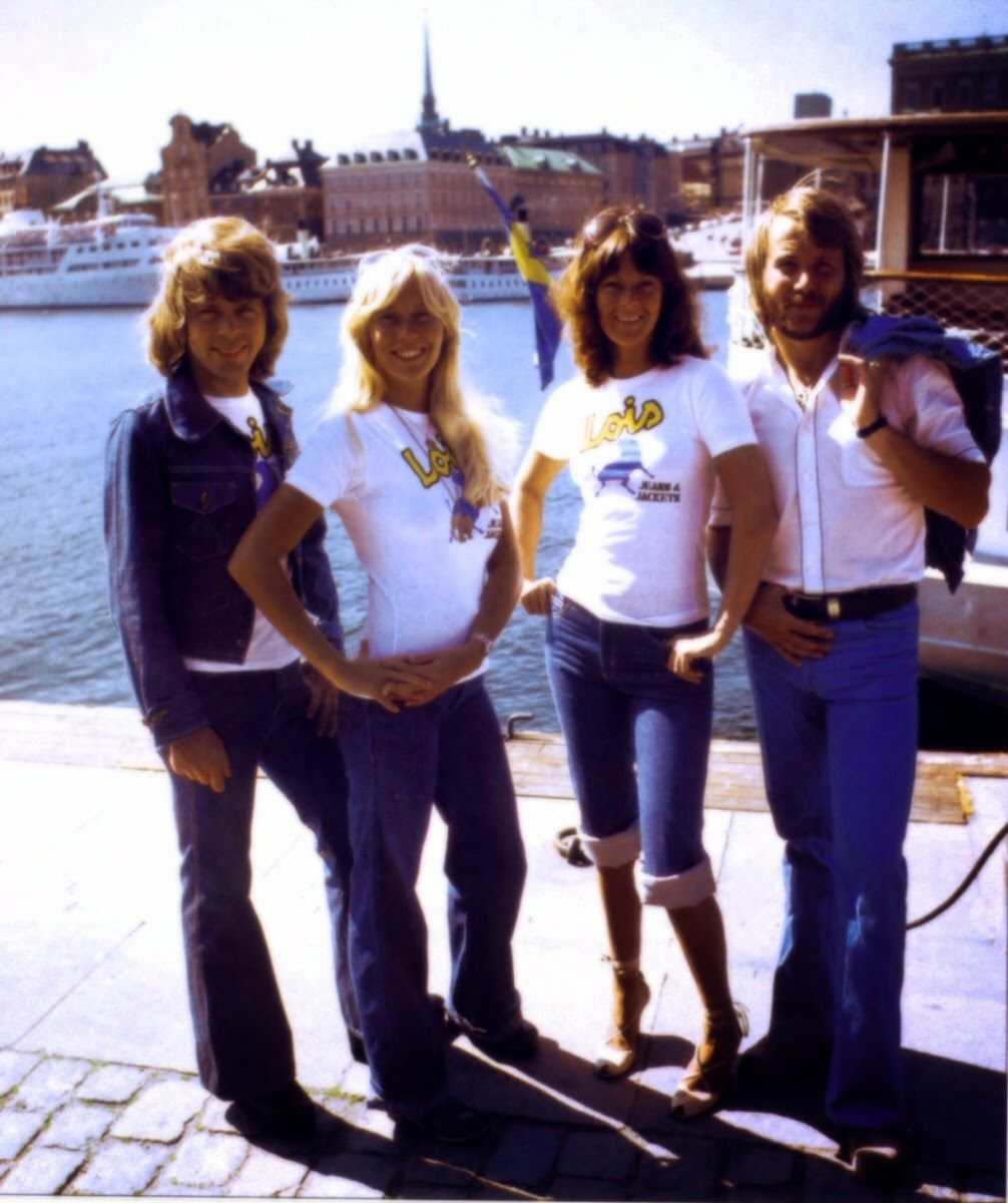 ABBA, Anni-Frid Lyngstad, Frida, Agnetha Faltskog, Benny Andersson, Björn Ulvaeus