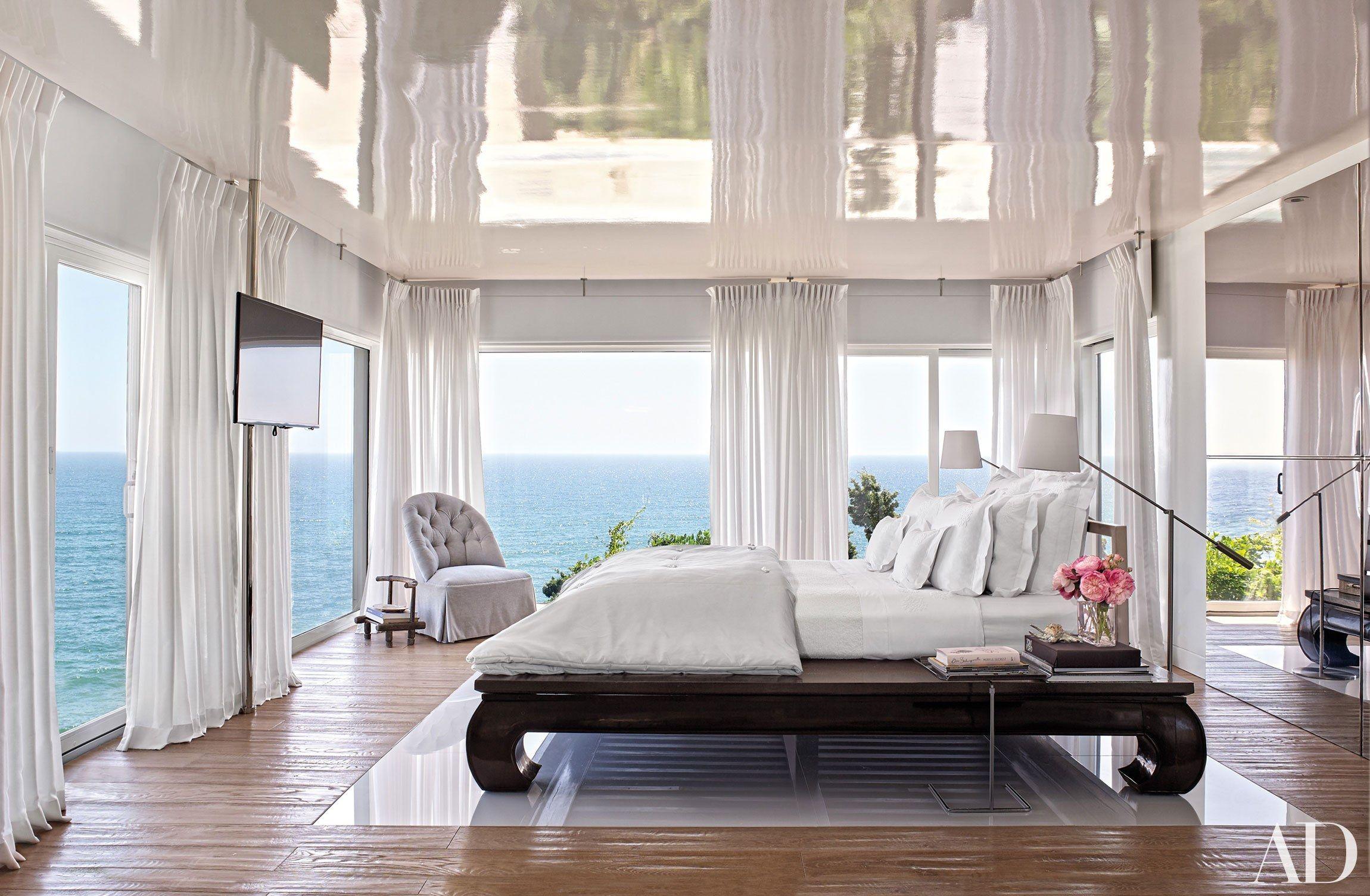 Master bedroom new design  We Go Inside Vicente Wolf and Matthew Yeeus Montauk New York