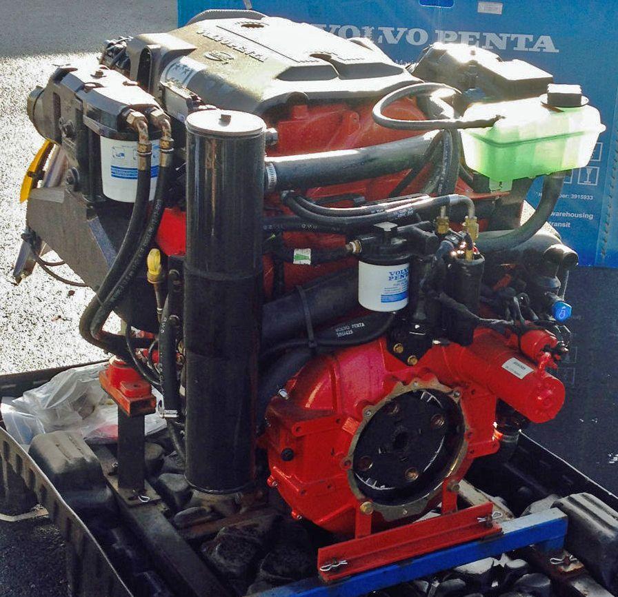 New Volvo Penta 8 1gxi 420hp Fwc Inboard Engine Boat Motor