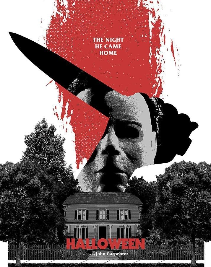 Pin by Juanita Martinez Lawrence on Michael myers halloween - halloween poster ideas