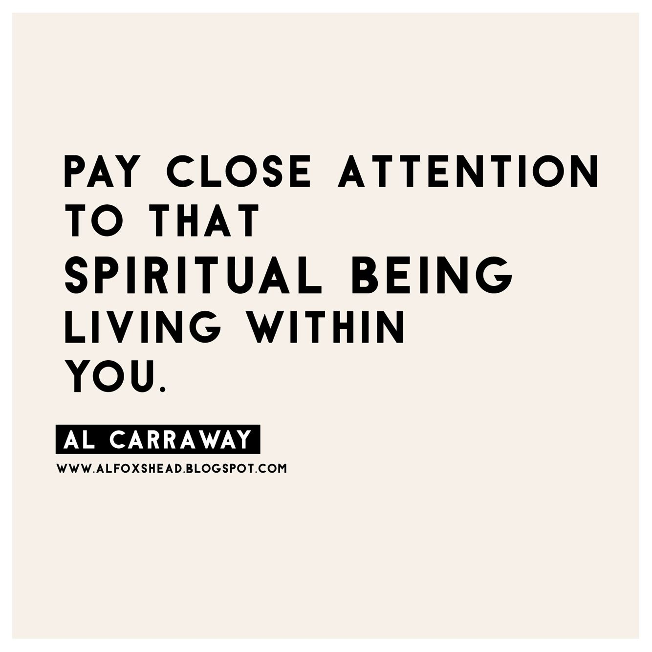 Quotes Within Quotes Al Fox Carraway Lds Quote Pay Close Attention To The Spiritual
