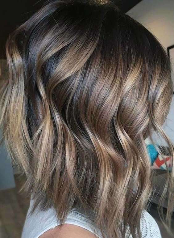 35 Adorable Brunette And Balayage Hair Color Trends 2018 Hair