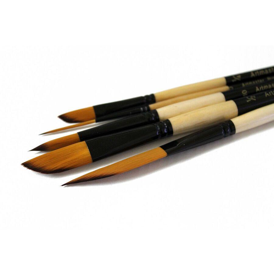 Artmaster Watercolour Paint Brush Effect Set Sword Dagger Round
