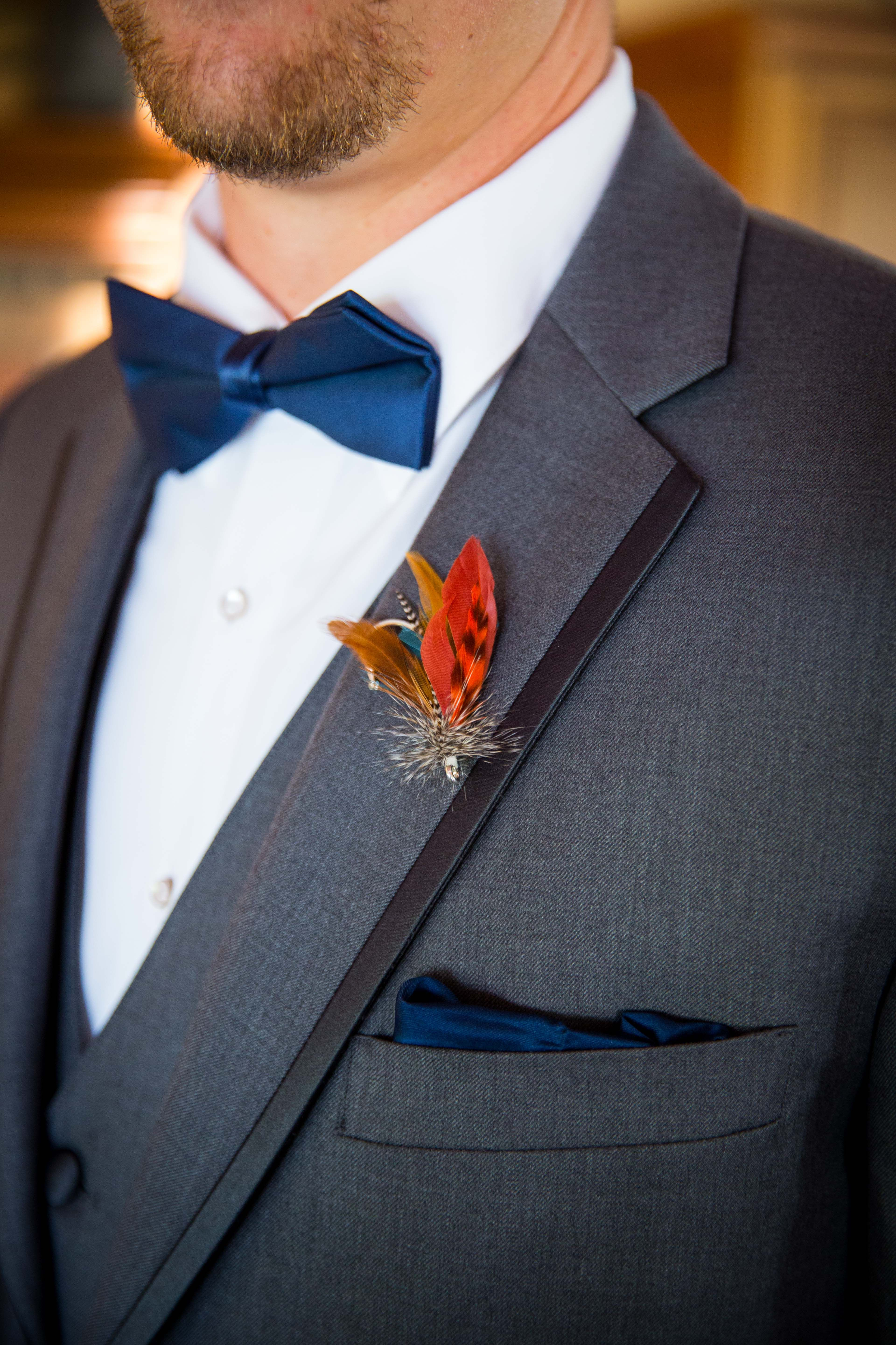 e595a4a42dec Fly Fish Boutonniere.... WE WILL GET CREATIVE FOR THIS BUT GENERALLY ITS A  FISHING BOUT.