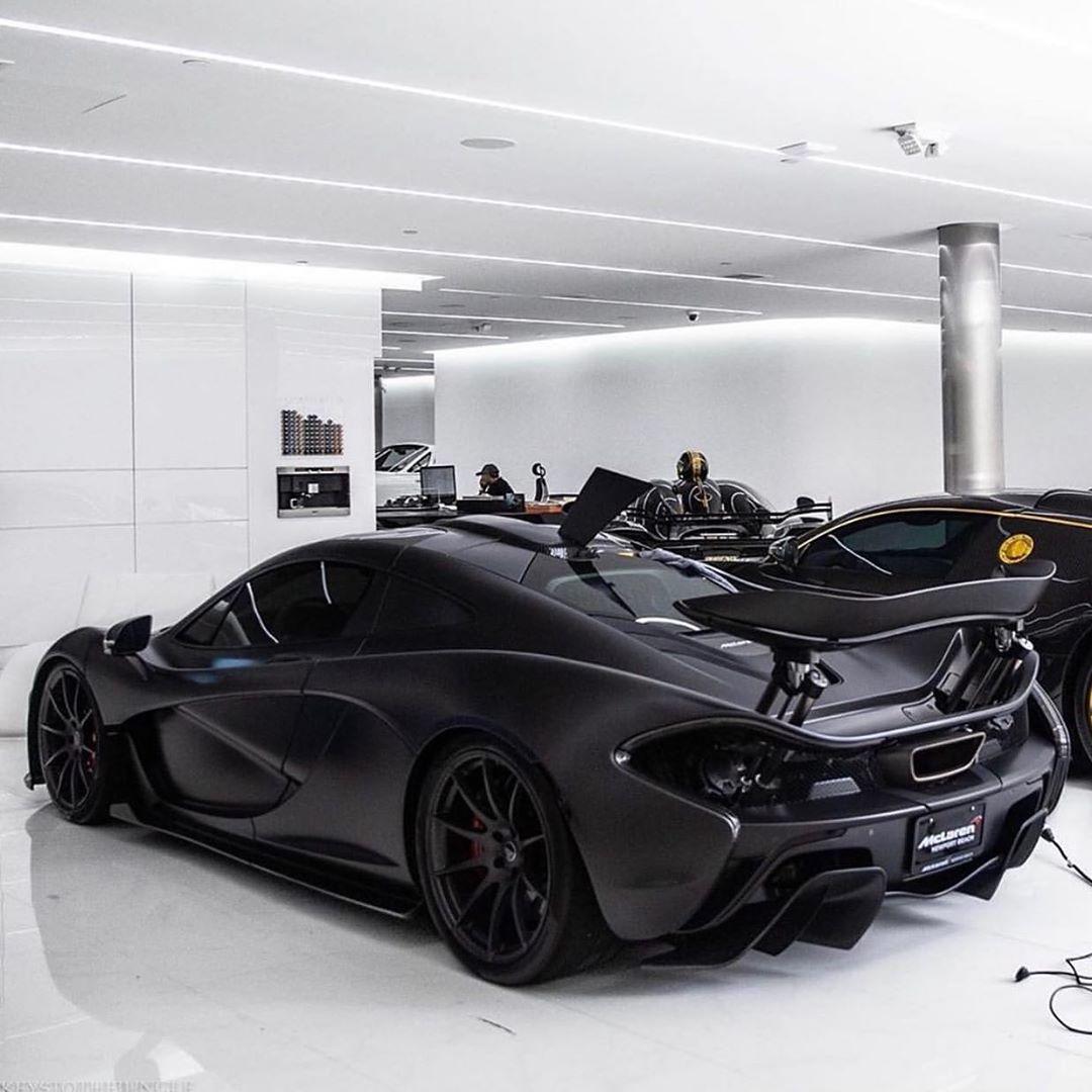 Mclaren P1 Aka Black Mamba Dark Enough Or Not Keystothejungle Via Mannykhosbin Follow Salvatorelifestyle Cars Mclaren P1 Mclaren Cars Super Cars