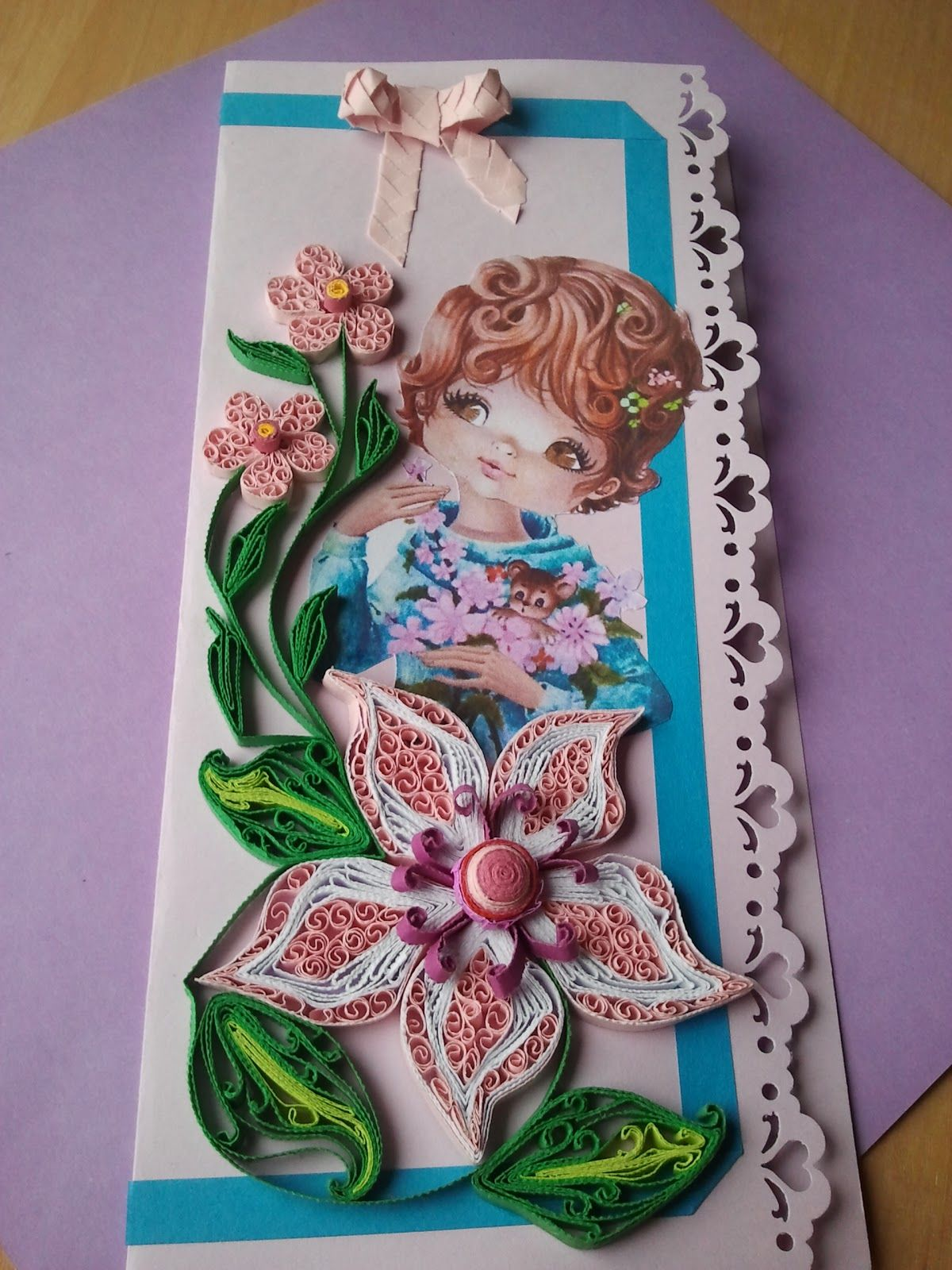 Quilling Card For You