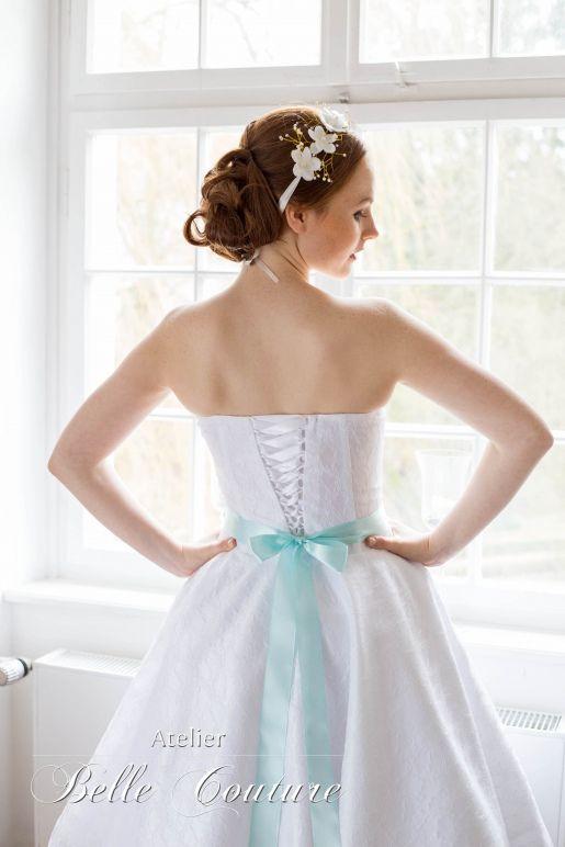 50er Jahre Petticoat Brautkleid   Stuffing