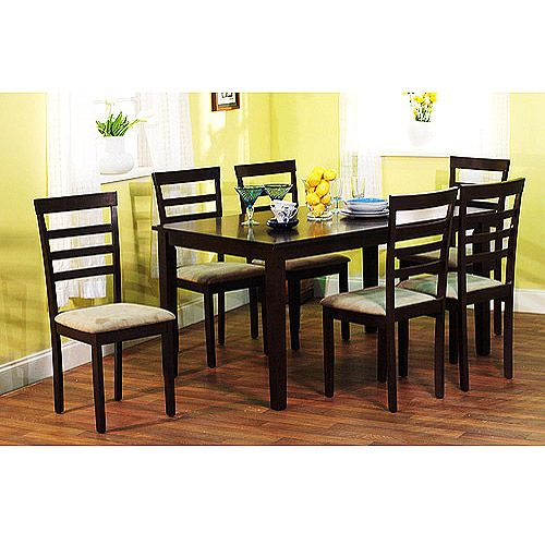 Cheap 7 Piece Dining Sets: TMS Contemporary Large Dining Table, Espresso