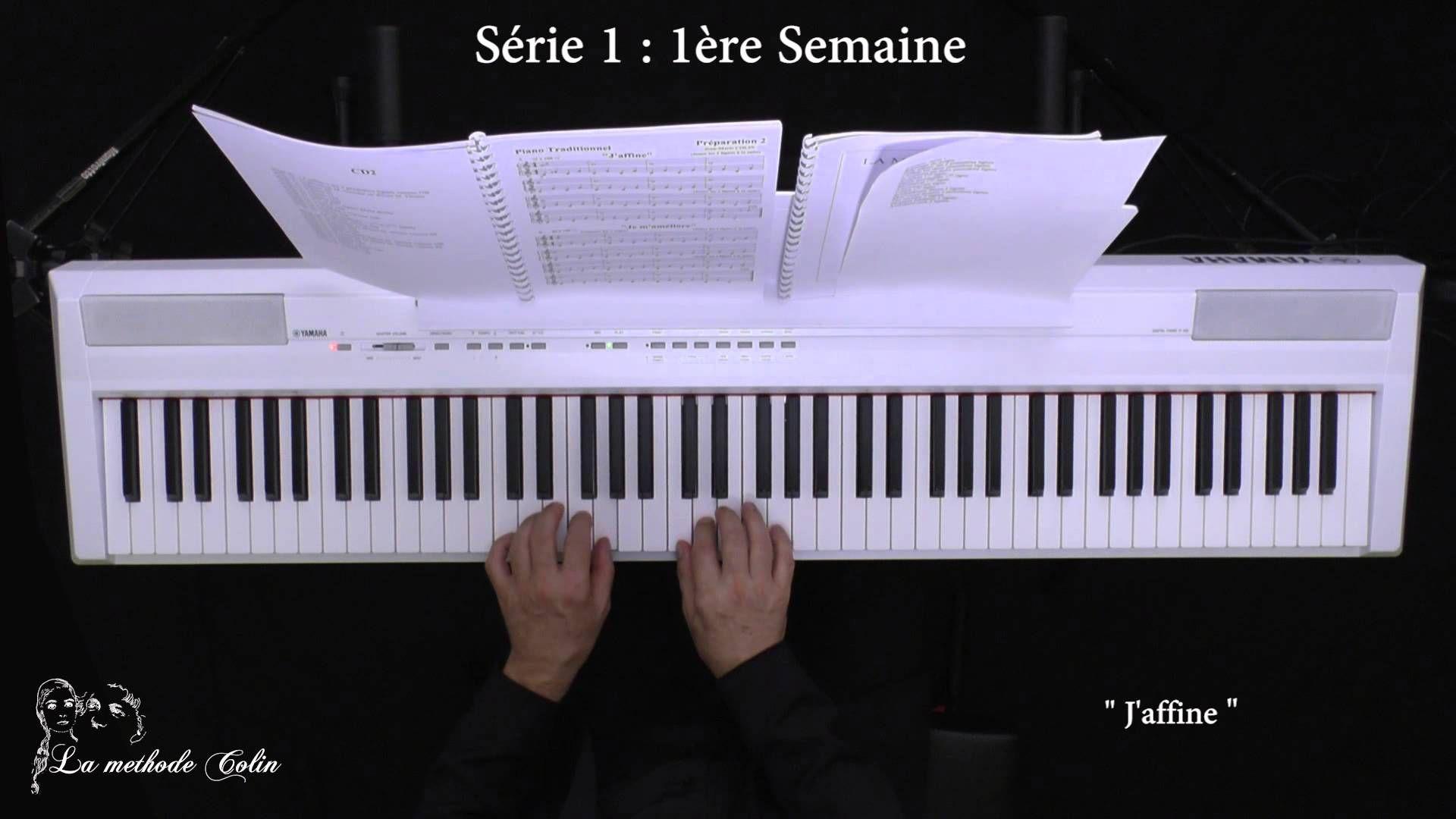 Méthode Colin - Les Séries Piano - Série 1