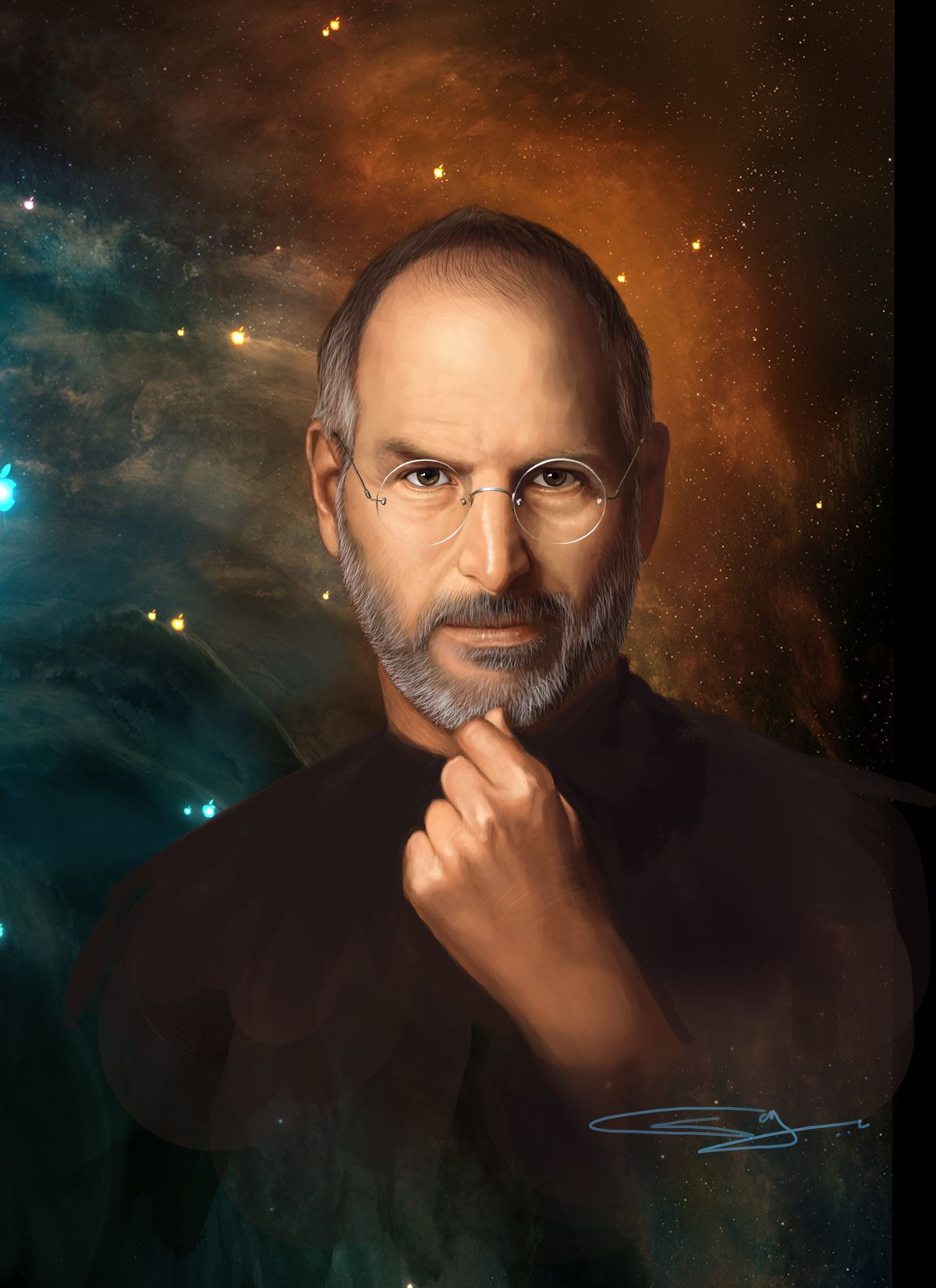 678817bfe60 Steven Paul Jobs up in the stars! If