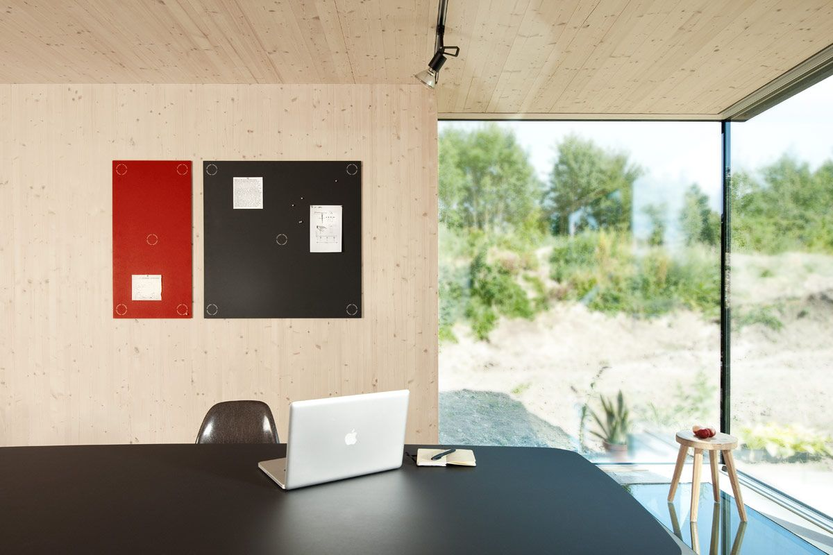 Magnetisch prikbord   interieur ― lino   materials (other than wood ...