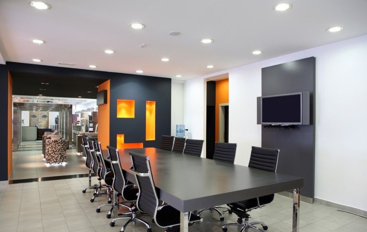 office room interior. Room · Modern Office Interior Designers Surat E