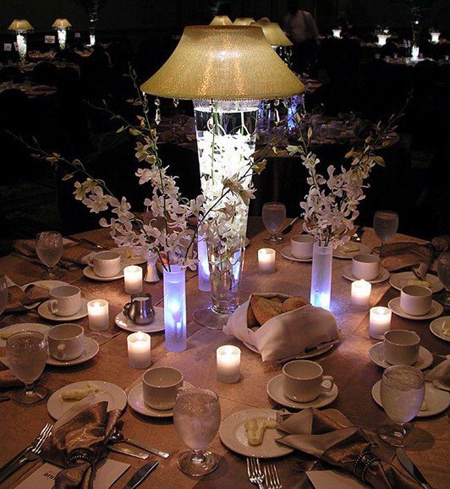 Wedding Table Decorations W O Lamp Shade