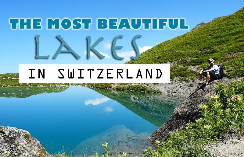 Switzerland Travel Blog - Forget cheese, chocolate and Swiss watches. There is more than that. For example? These beautiful, jaw-dropping turquoise lakes.