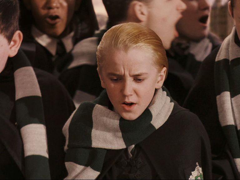 Image About Girl In H A R R Y P0tter By Dead Inside Draco Malfoy Tom Felton Draco Malfoy Harry Potter Draco Malfoy