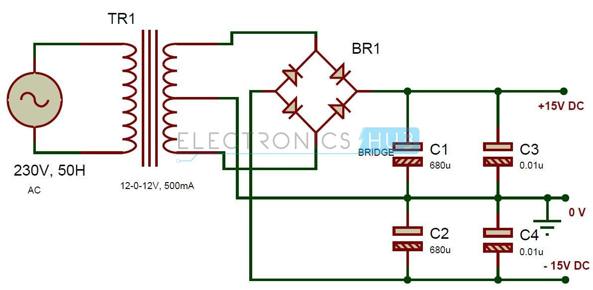 Active Audio Crossover Circuit | Power supply circuit, Circuits ...