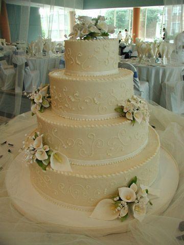 wedding cakes pictures non fondant | Non-fondant wedding cakes ...
